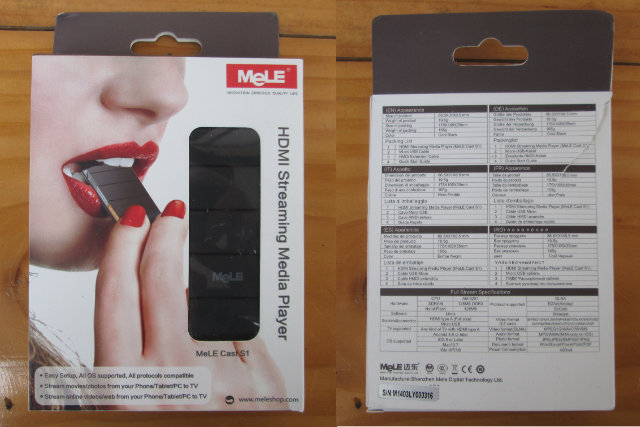 MeLE Cast S1 Package (Click to Enlarge)
