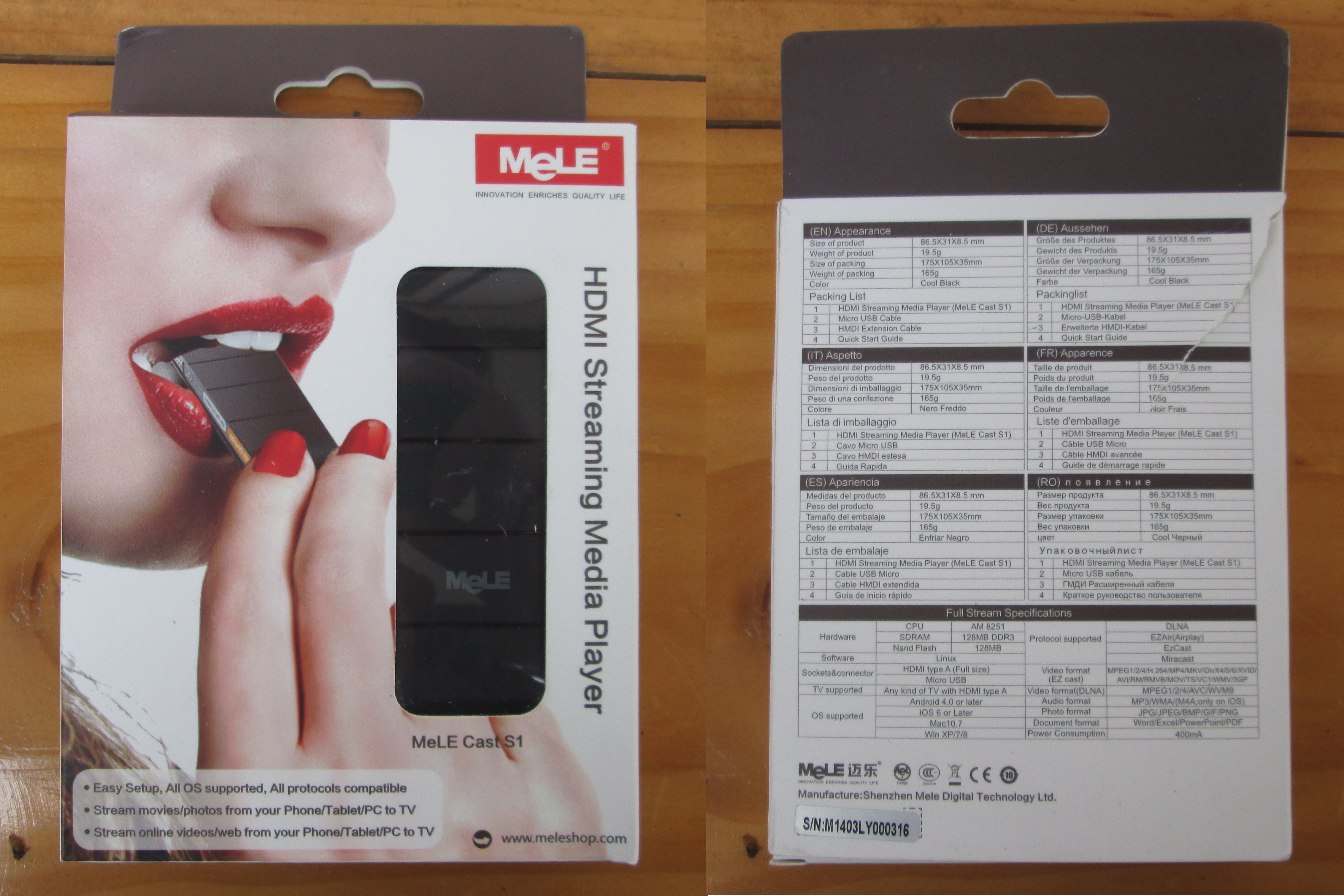 Mele Cast S1 EZCast / Miracast / DLNA / Airplay Dongle Review