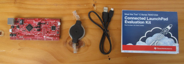 Board, Ethernet & USB Cables, and Quick Start Guide