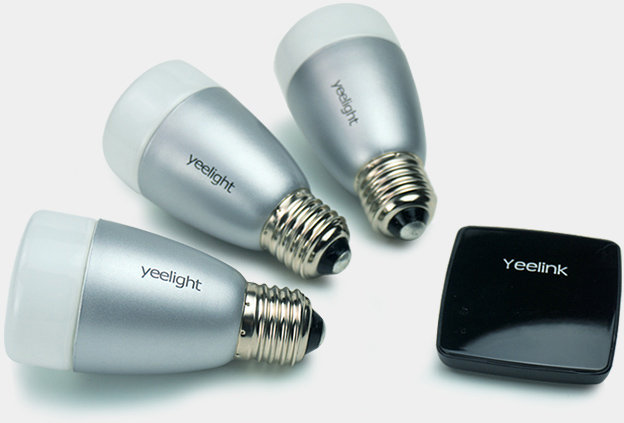 Yeelight Blue and Yeelight Sunflower Bluetooth Low Energy