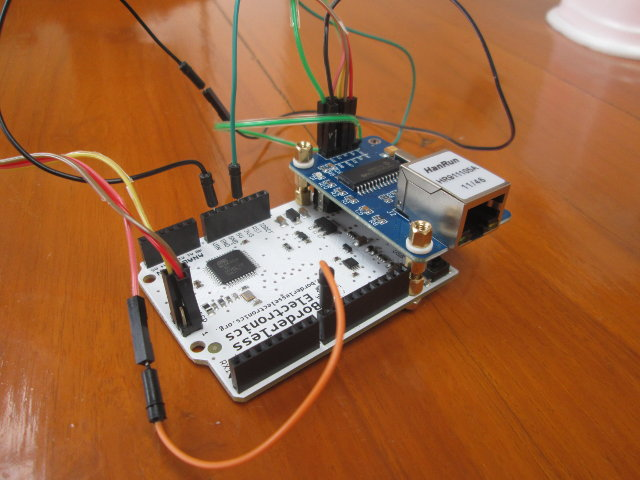 How to make a web server for iot applications