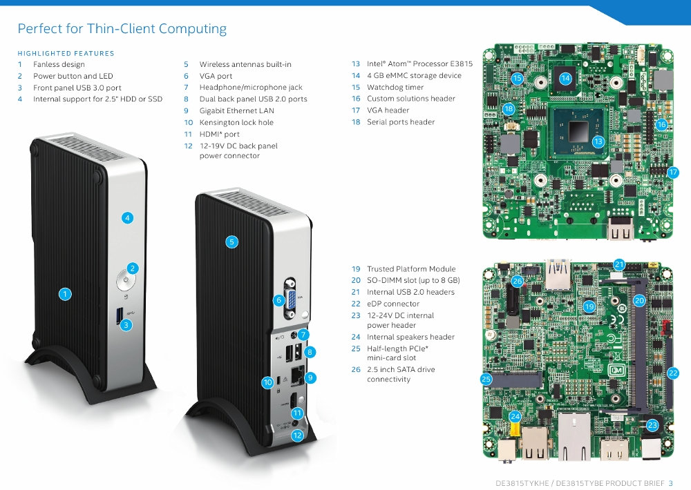 Intel Announces Its First Bay Trail Fanless Nuc Kit