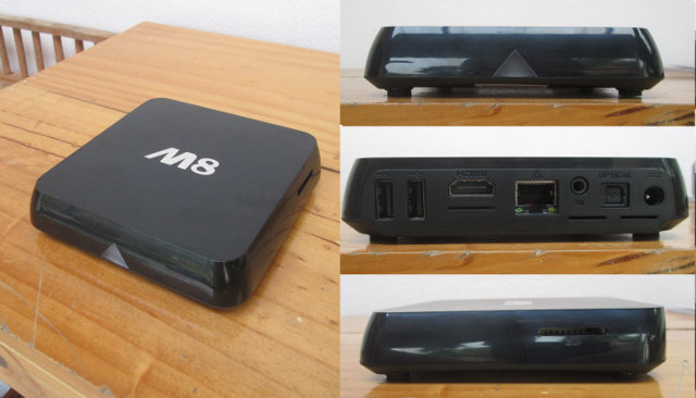 M8 Android TV Box (Click to Enlarge)