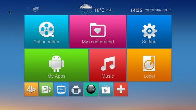 M8 Home Screen (Click for Original Size)
