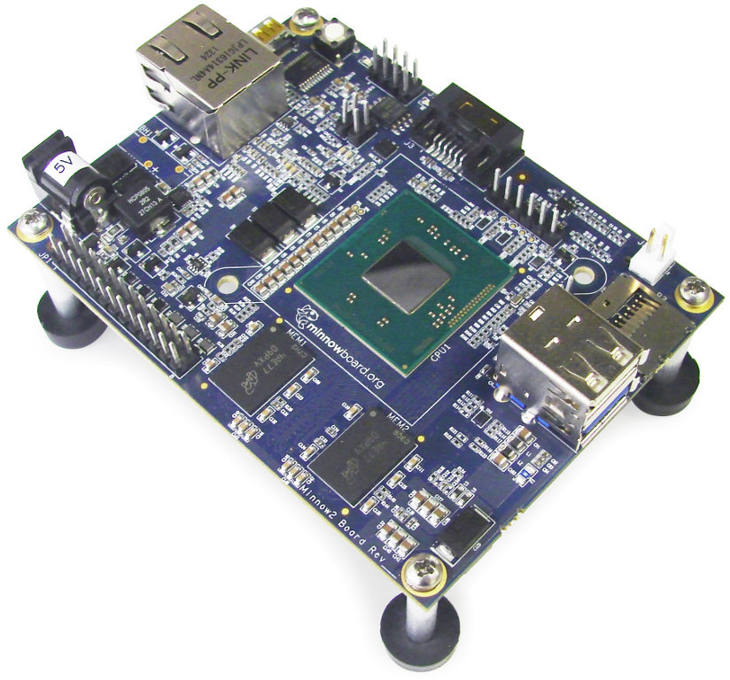 MinnowBoard MAX (Click to Enlarge)