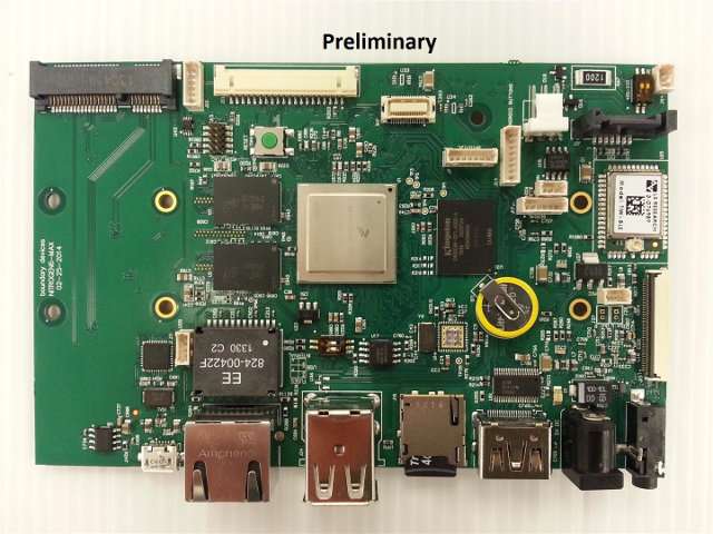 Nitrogen6 MAX Development Board (Click to Enlarge)