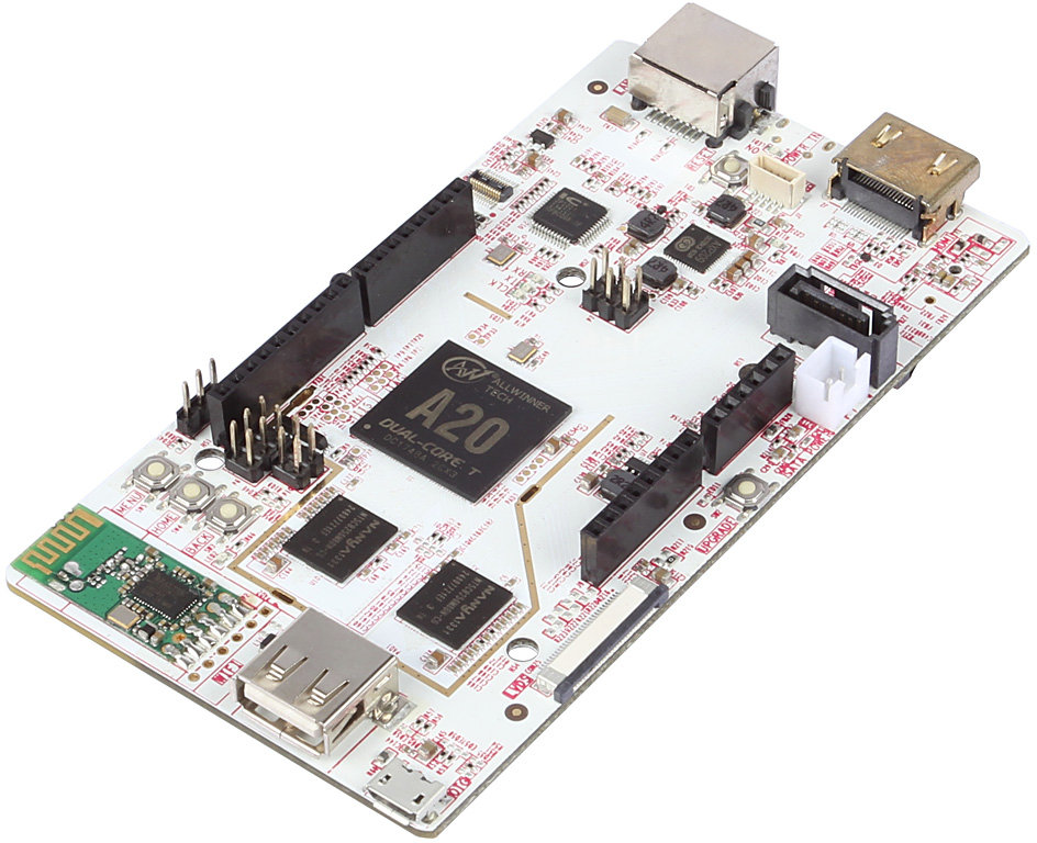 Pcduino development board features allwinner a soc