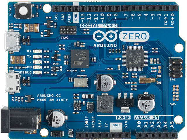Arduino Zero (Click to Enlarge)