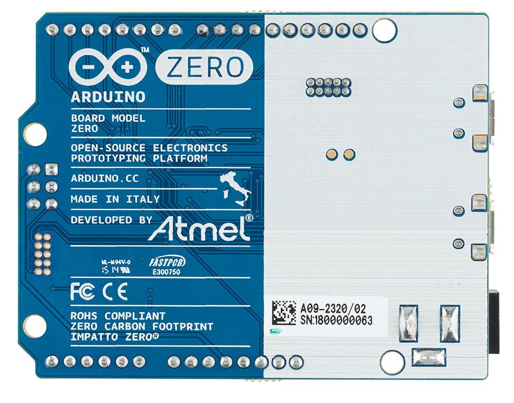 Arduino unveils zero board featuring atmel samd