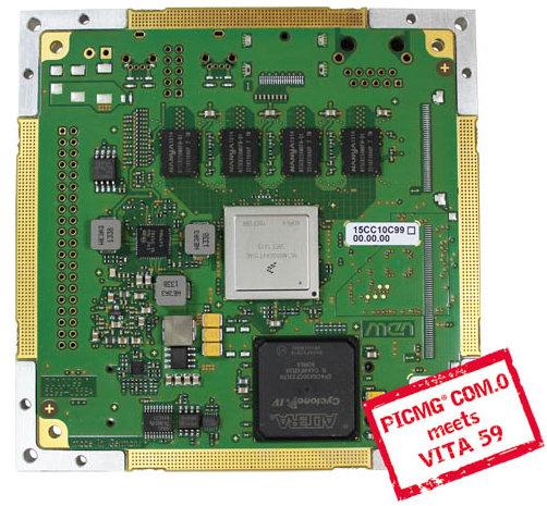 CC101C COM Express Module (Freescale i.MX6 + Altera FPGA)