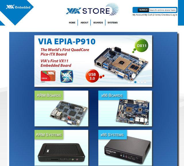 VIA_Embedded_Store
