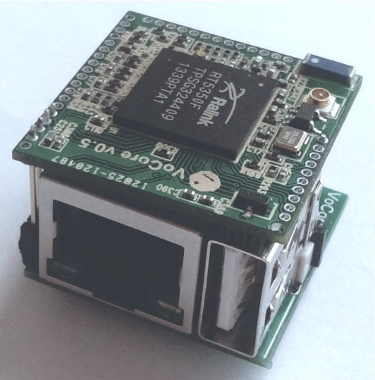 VoCore Module with Dock
