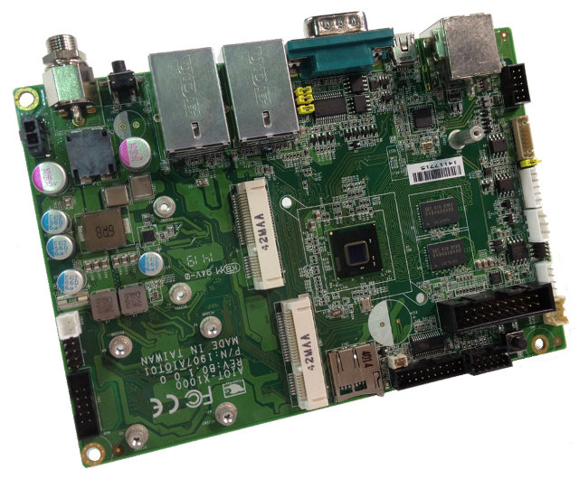 AIOT-X1000 Board (Click to Enlarge)