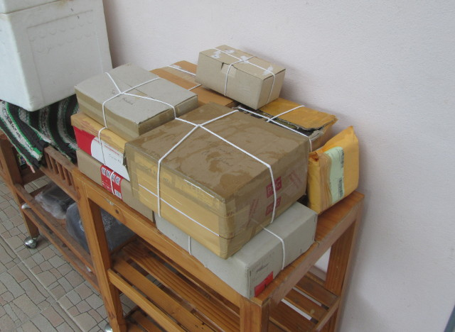 Parcels (Almost) Ready to Send