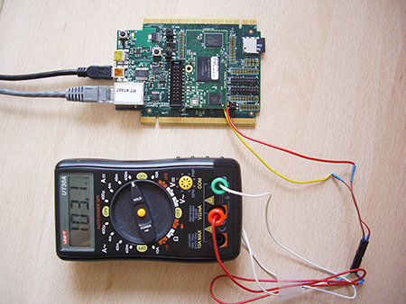 Freescale_K70_Board_multimeter