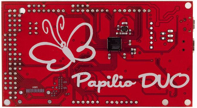 Papilio DUO - Arduino Side