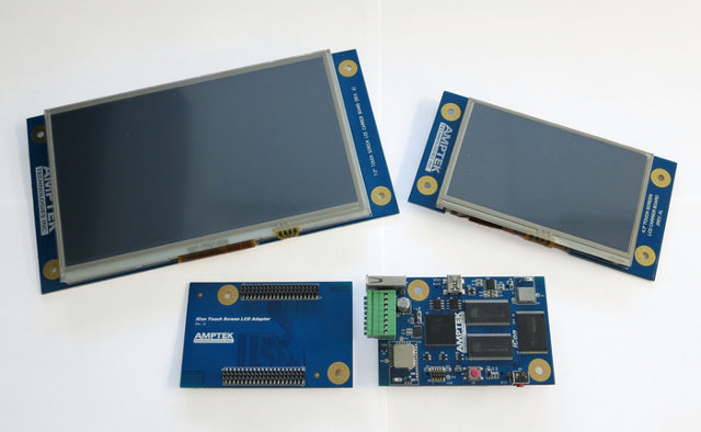 iCon Boards and LCD Modules