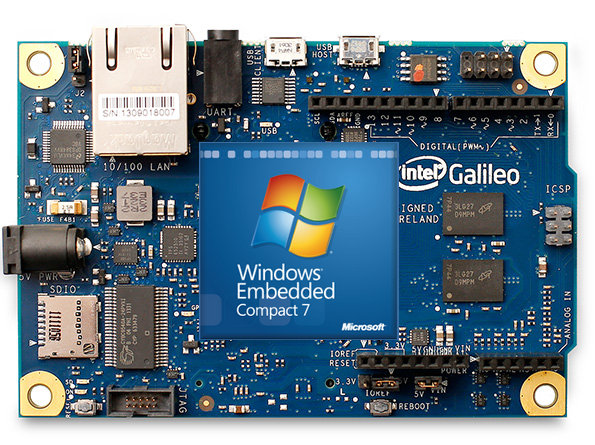 Microsoft is giving away intel galileo arduino compatible