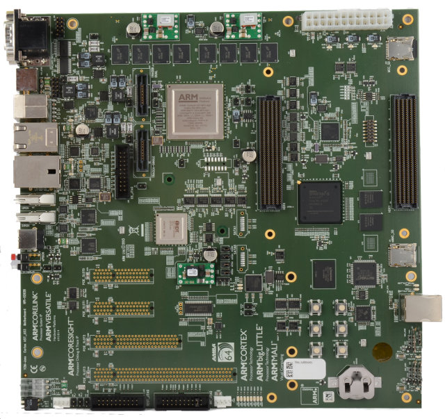 Juno Versatile Express Board (Click to Enlarge)