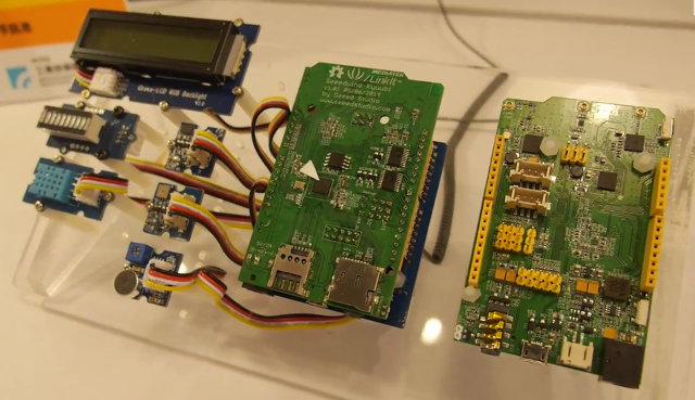 Mediatek Linkit Hardware Platform (Click to Enlarge)