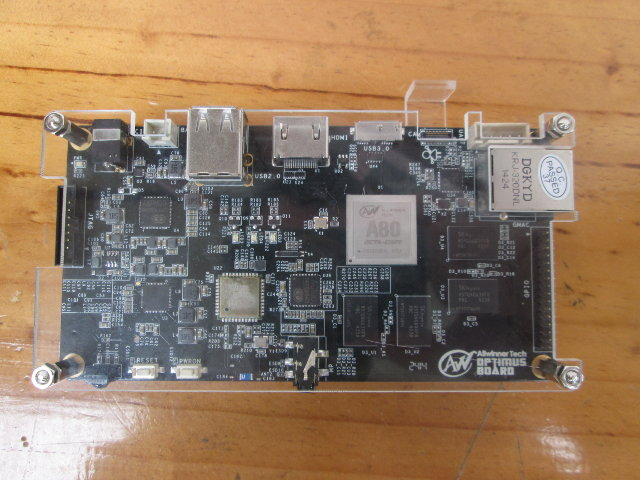 Top of A80 OptimusBoard (Click to Enlarge)