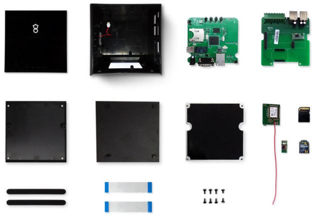 Disassembled STACK Box (Click to Enlarge)