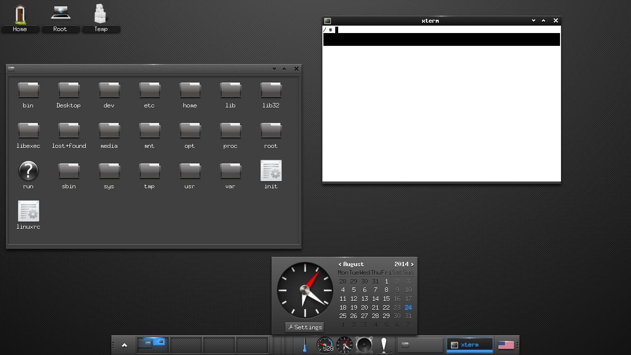 Linux (Enlightenment and Lubuntu) in WeTek Play Amlogic TV Box