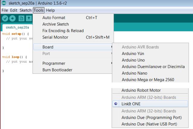 Arduino_IDE_LinkIt_ONE