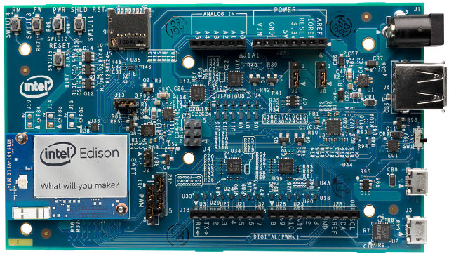 Intel Edison Arduino (Click to Enlarge)