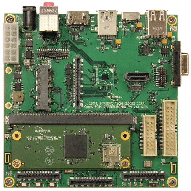 OPEN-Q 8084 Snapdragon 805 Development Board (Click to Enlarge)