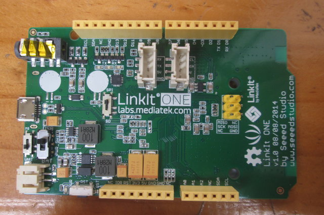 LinkIt ONE (Click to Enlarge)