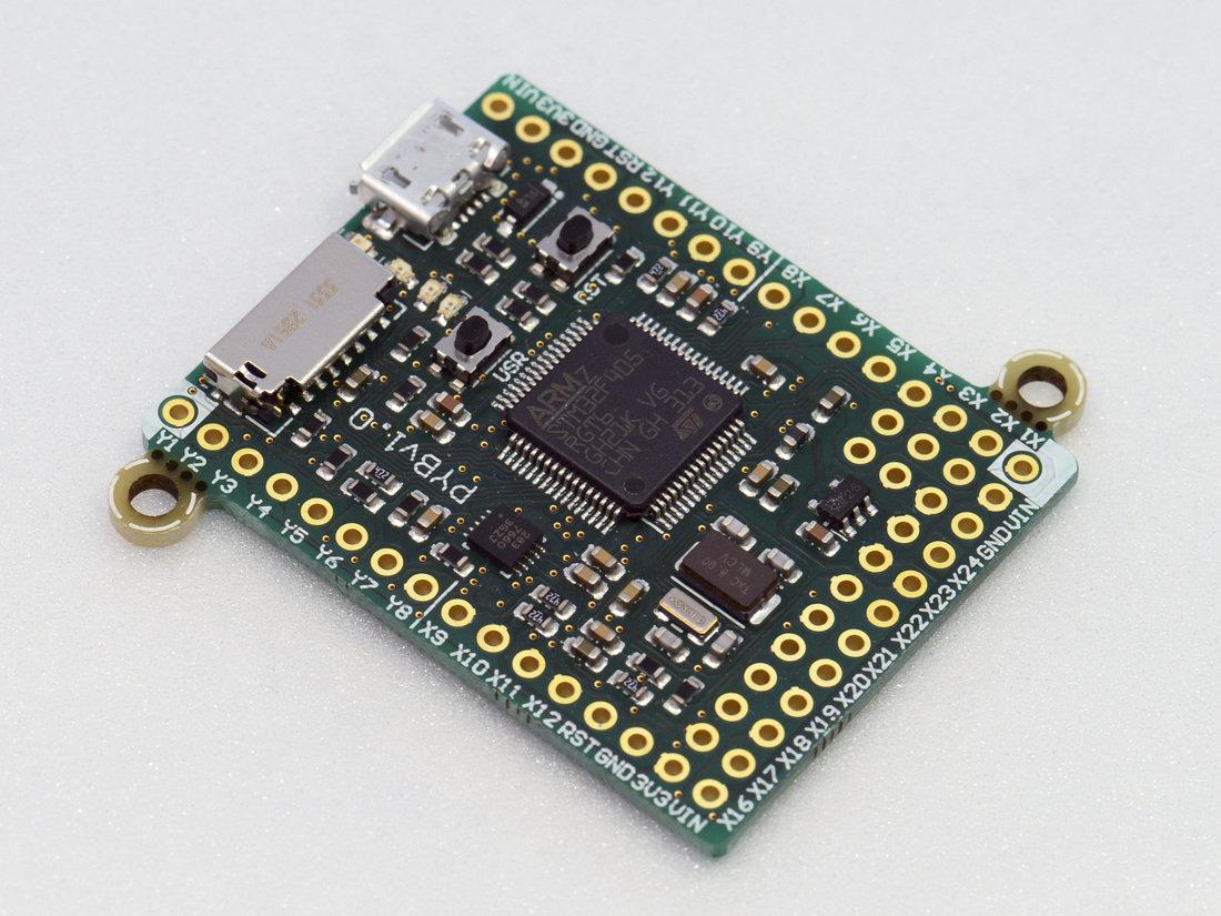 Micro Python ARM Cortex M4 Board is Now ...