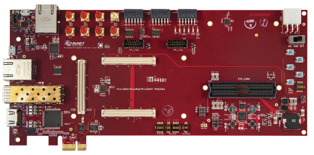 PicoZed Carrier Board (Click to Enlarge)