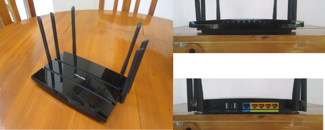 TP-Link TL-WDR7500 Router (Click to Enlarge)