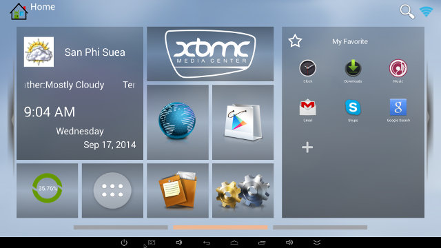 Launcher Part of Android SDK for RK3288 (Click for Original Size)