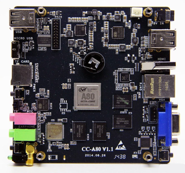 Cubieboard_CC-A80_Board