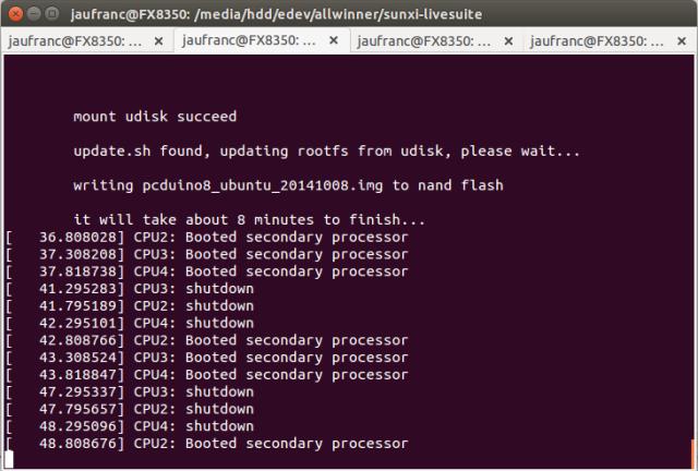 pcDuino8_Ubuntu_Update