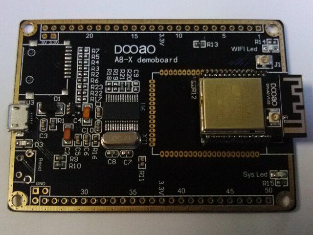 Dooao A8-X Demoboard with DWA8 Module