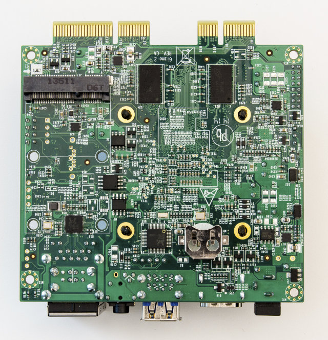 Bottom of Gizmo2 Embedded Board (Click to Enlarge)