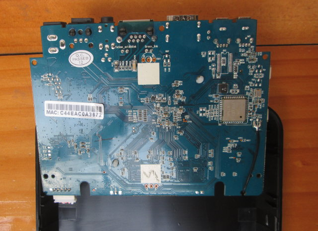 Bottom of M8S Board (Click to Enlarge)