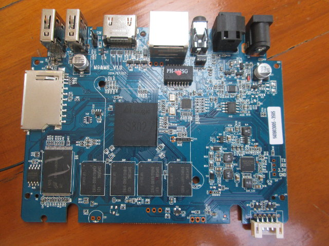 Rippl-TV M8&M9 Board (Click to Enlarge)