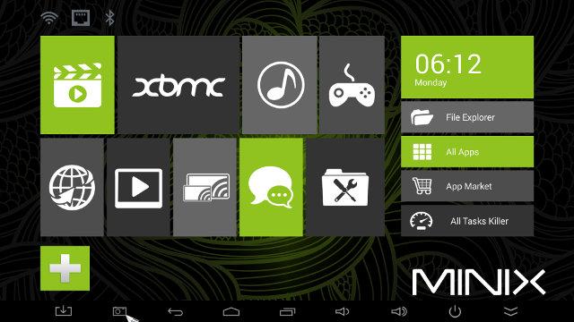 MINIX Metro Interface (Click for Original)