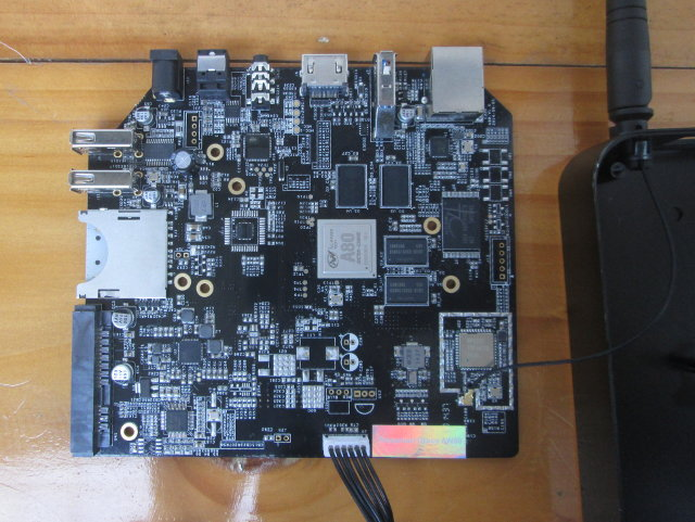 AW80 Board (Click to Enlarge)