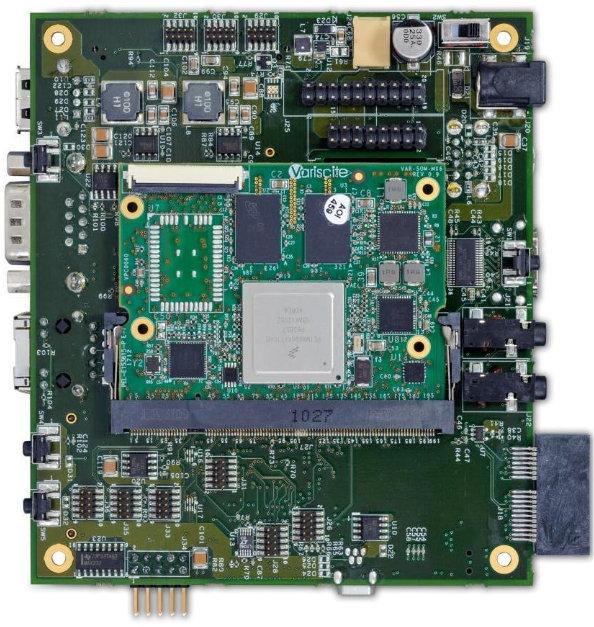 VAR-MX6CustomBoard Baseboard with VAR-SOM-MX6 SoM