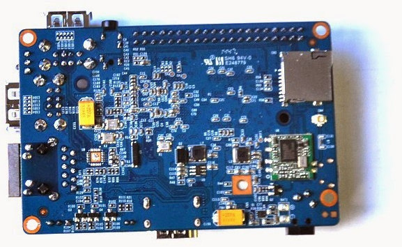 Banana Pi M2 is an Allwinner A31s Quad Core Board with Raspberry ...