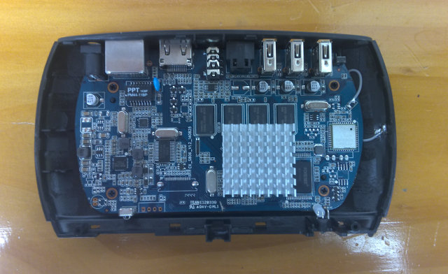 CX-S806 Board (Click to Enlarge)