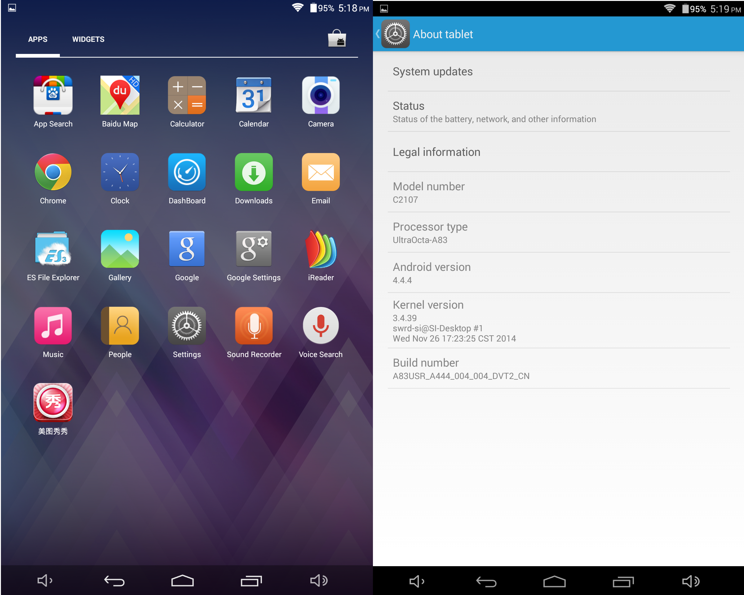 android tablet writing applications