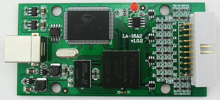 LA1016_Logic_Analyzer_PCBA