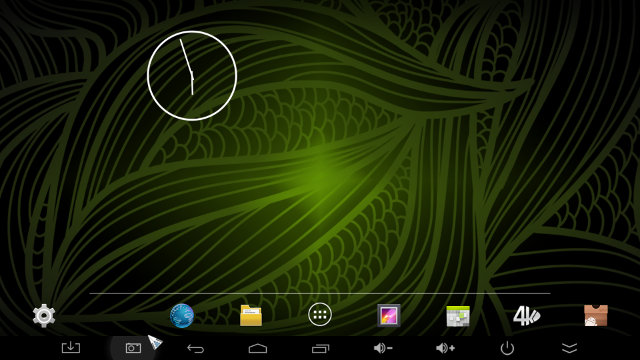 Android Home Screen in NEO X8-H Plus (Click for Original Size)
