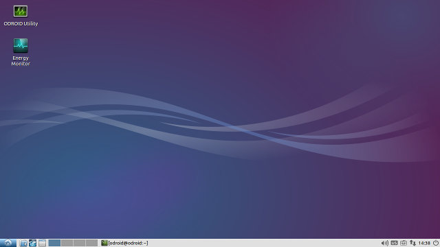 Lubuntu Desktop in ODROID-XU3 Lite